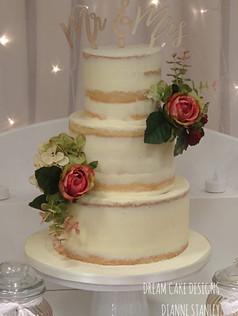 SEMI NAKED CAKE ...