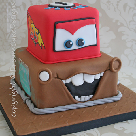 'ELLIOT' ~ 'CARS' THEMED CAKE