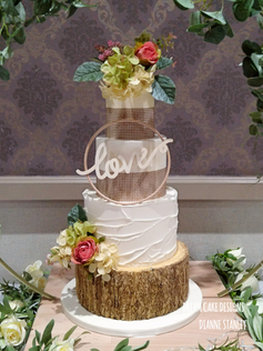 RUSTIC STYLE CAKE ...