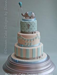'CRISTON ROY' ~ CHRISTENING CAKE