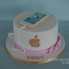 'LUCY' ~ mobile phone birthday cake