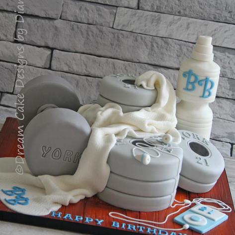 'BRAD' ~ WEIGHTS / GYM CAKE