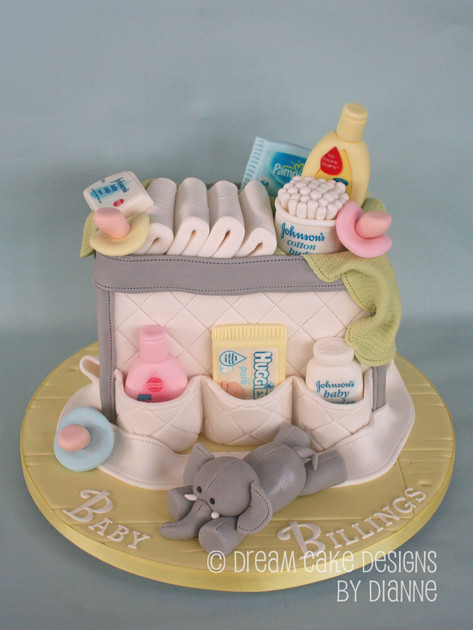 'BABY BILLINGS' ~ BABY  SHOWER, BABY CHANGING BAG
