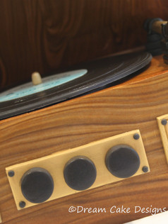 'EMILY' ~ realistic vintage record player complete with personalised vinyl CHRIS 8791 - Copy.jpg