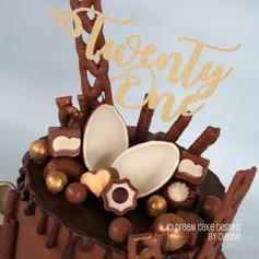 'CHARLOTTE' ~ Chocolate Drip Cake