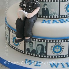'MARGARET' ~ we will miss you ~ edible image photo strip
