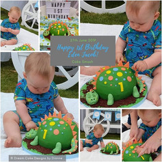 DINOSAUR CAKE & CANDY CART PACKAGE