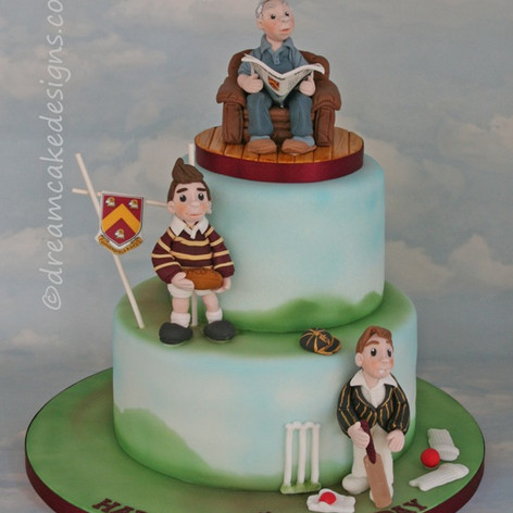 80th BIRTHDAY ~ Your life in cake