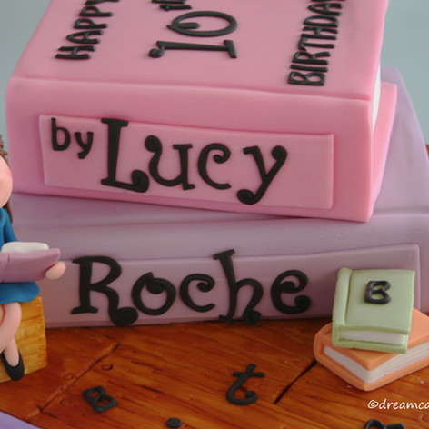 'LUCY' ~ MATILDA THEMED BOOK CAKE