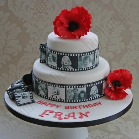 'FRAN' ~ POPPY BIRTHDAY CAKE