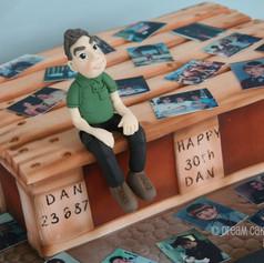 'DAN' ~ PALLET CAKE