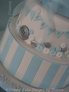LEWIS ELLIOT ~ CHRISTENING CAKE ~