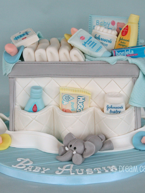 'BABY AUSTIN' ~ BABY  SHOWER, BABY CHANGING BAG