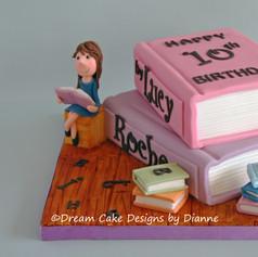 'LUCY' ~ MATILDA THEMED BOOK CAKE