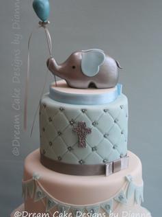 CRISTON ROY ~ CHRISTENING CAKE