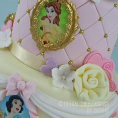 'EVA' ~ PRETTY 2 TIER PRINCESS THEMED CAKE