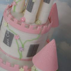 'ESTHER' ~ 2 TIER Princess Castle Cake
