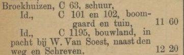 21-7-1894 Boerderij hoek Hoogstraat Kerk