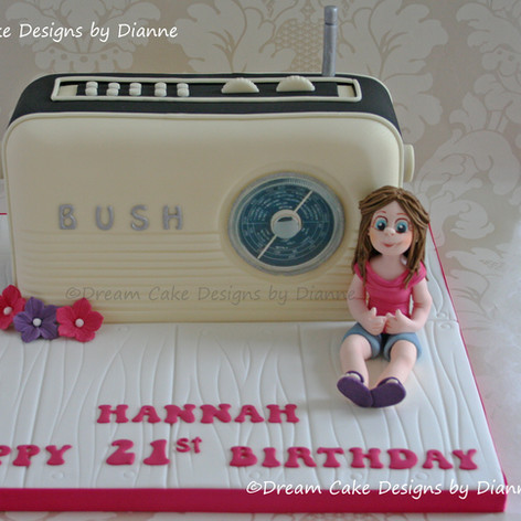 'HANNAH' ~ RETRO RADIO