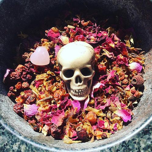 Spirit offering powder - For the Loving Dead