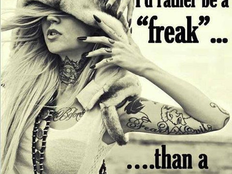 Why Witches are Real Freaks