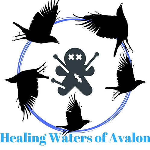 Crow Poppet - Healing Waters of Avalon