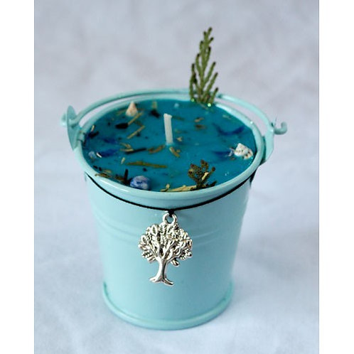 Ogham Mor The Sea - Celtic Spell cauldron Candle