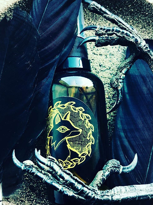 Starry Witch Spritz Spray - The Temple beneath Corvids' Wings - Morrigan