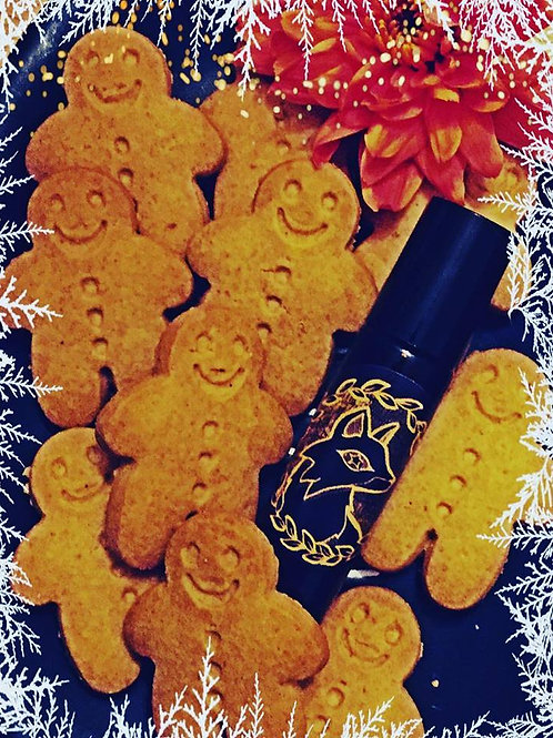 Gretel - The Gingerbread Witch! Winter Anointing Spell Oil