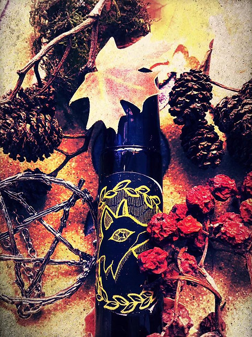 The Witch Wood - Forest Spirit Anointing Spell Oil