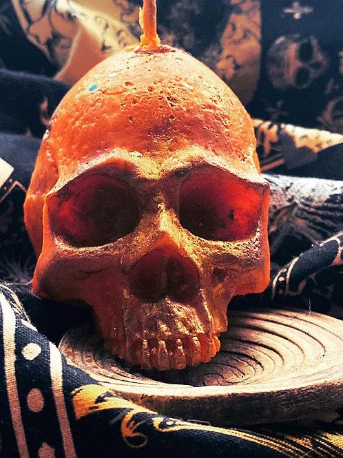 Temple of Skulls - Halloween Skull Candle