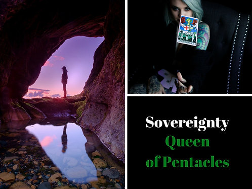 Lessons of Sovereignty - Queen of Pentacles