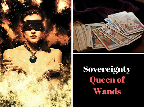 Audio Course - Lessons in Sovereignty - Queen of Wands