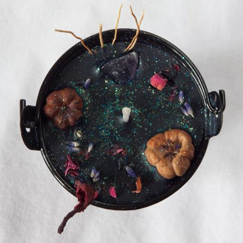 The Witches Garden Spell Cauldron - Empowerment at Halloween