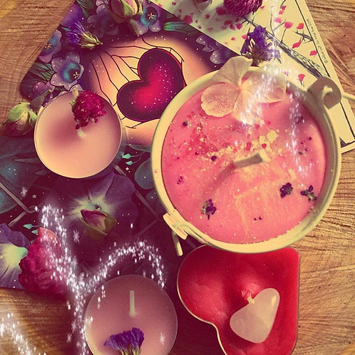 """Love thyself, Witch!"" - Self Love and Healing Spell Cauldron"