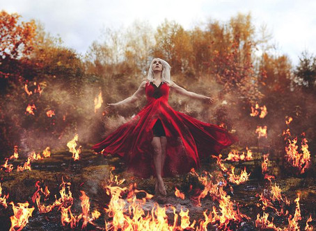 Pagan Poetry – Channeling Badb – Fire child
