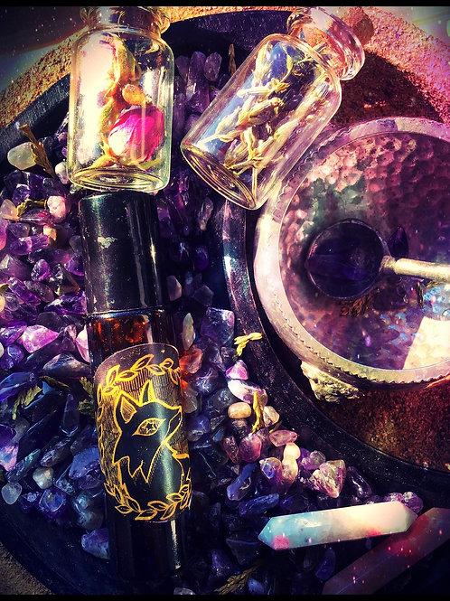 The Dark Cauldron of Cerridwen Anointing Spell Oil