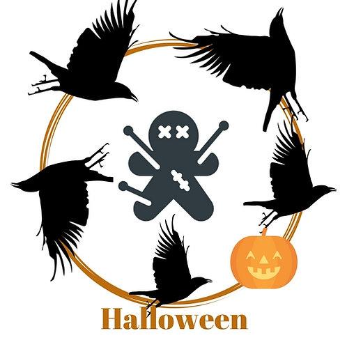 Crow Poppet - Samhain - Halloween