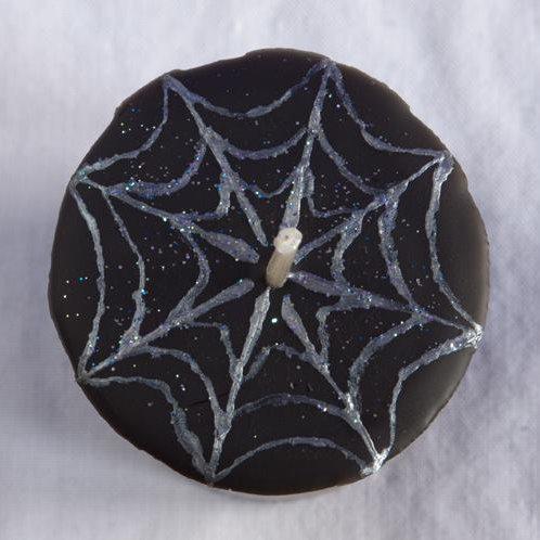 """""""Widow's Kiss"""" Spider Halloween Spell Votive"""