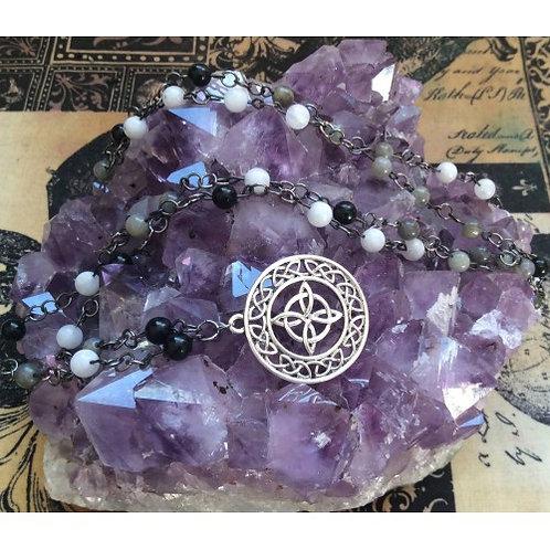 Celtic Sanctuary Pagan Prayer beads