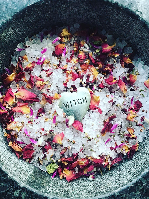 """Love thyself, Witch!"" - Self Love and Healing - Magical Salts"