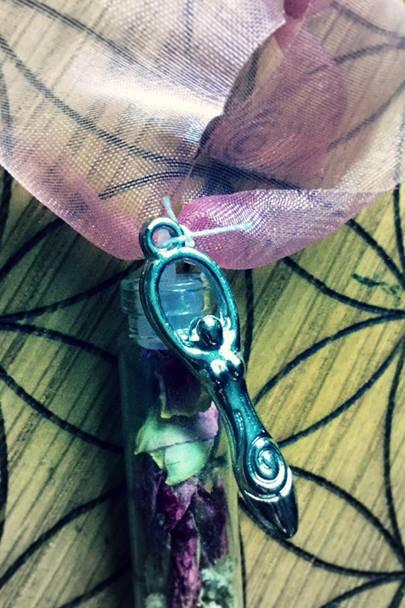 Goddess Brigid Spell Pendant