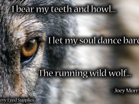 Pagan Poetry - Of the Wolf Heart