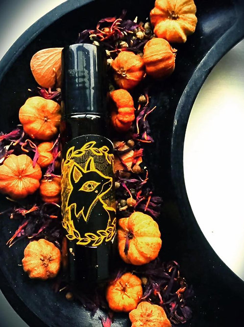 All Hallows' - Starry Pumpkin Spice Anointing Spell Oil
