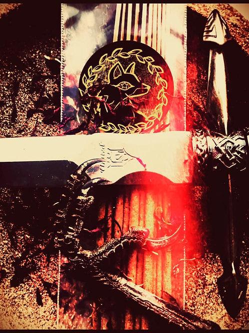 Starry Incense Sticks - Blade over Shield - Morrigan Protection