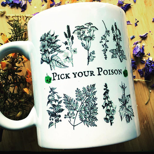 "Starry Poison Witch Mug - ""Pick Your Poison!"""