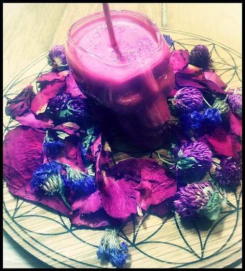 """Love Potion"" - Skull Candle for Love Magick"