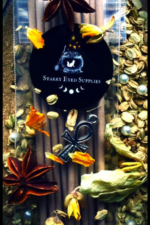 Starry Incense Sticks - Temple of the Desert Flower for Goddess Isis