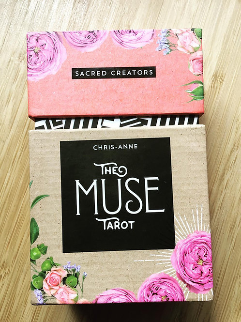 The Muse Tarot Indie Limited First Edition - Coral Edging