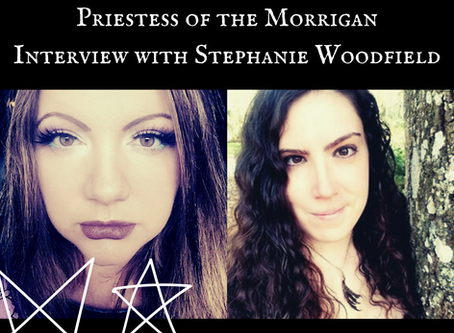 Priestess of The Morrigan - Interview with Stephanie Woodfield